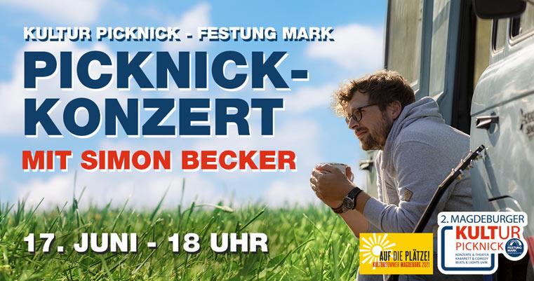 Simon Becker Picknickkonzert