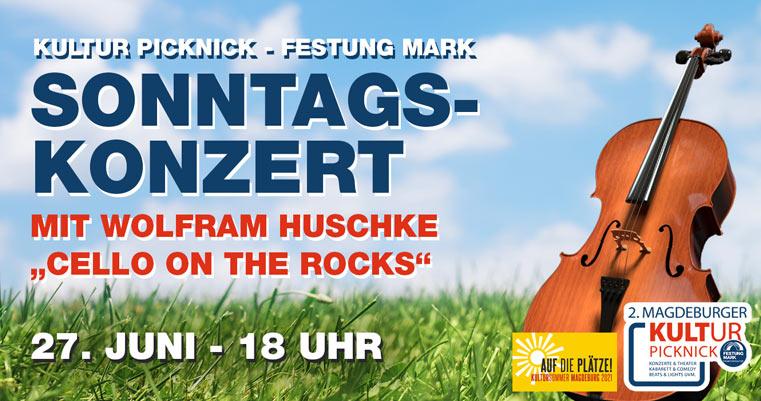 Wolfram Huschke - Cello on The Rocks Sonntagskonzert