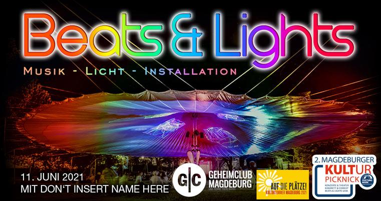 Beats & Lights mit Geheimclub