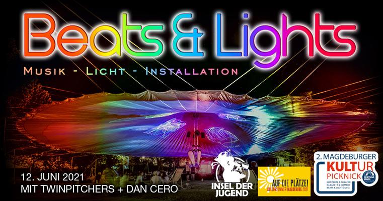 Beats & Lights am 12. Juni mit Insel der Jugend