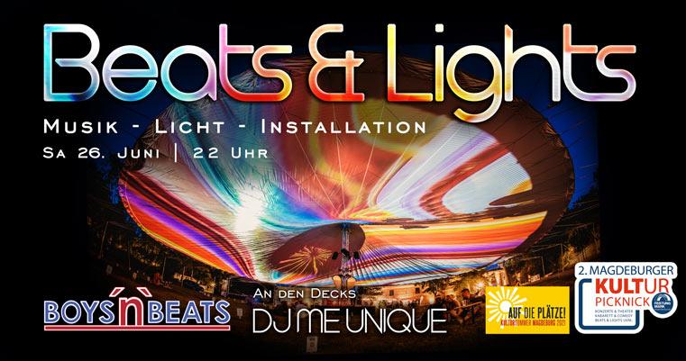 Beats & Lights mit Boys'n'Beats