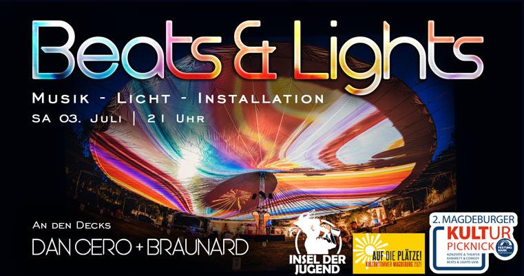 Beats & Lights am 03. Juli