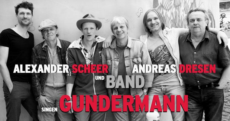 Alexander Scheer, Andreas Dresen & Band singen GUNDERMANN