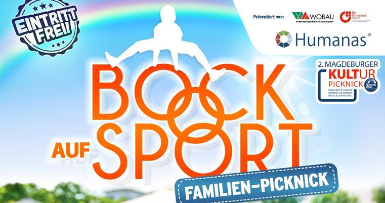 Bock auf Sport Familien Picknick