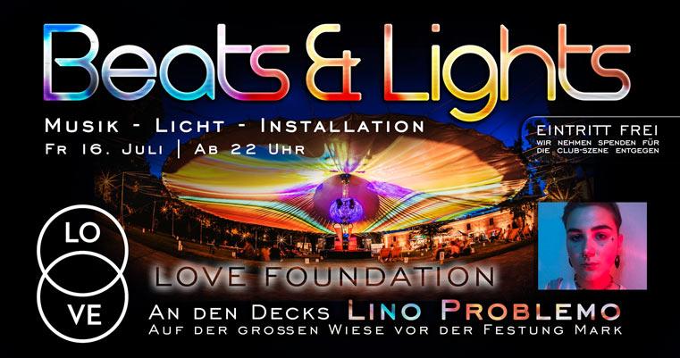 Beats & Lights mit Lino Problemo