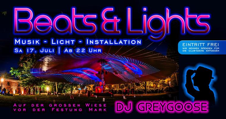 Beats & Lights mit DJ GreyGoose