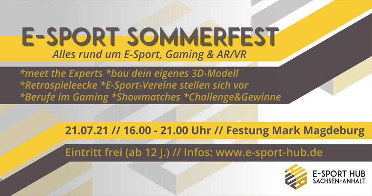 E-Sport Sommerfest