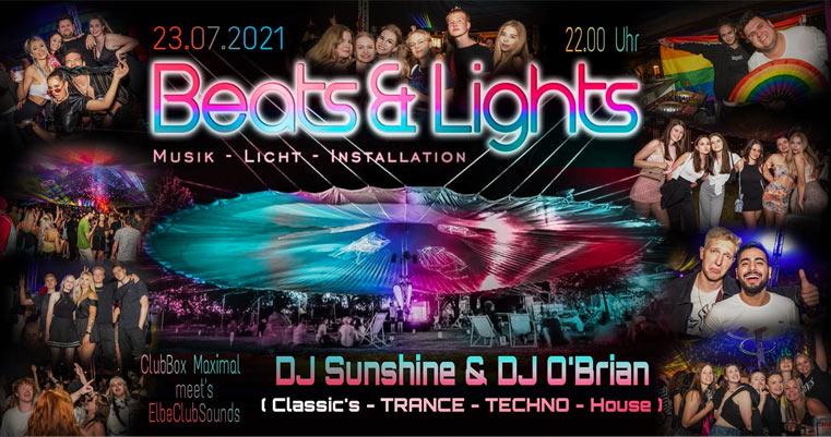 Beats & Lights mit DJ Sunshine und DJ O'Brian